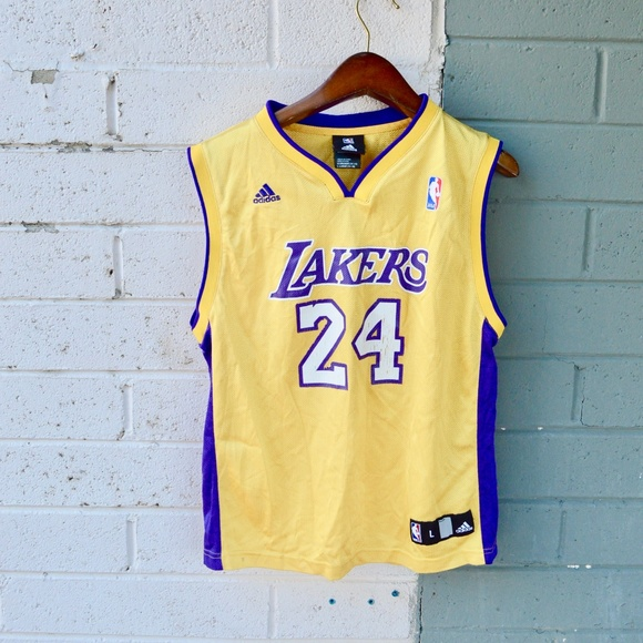 0d74f3c8173 adidas Shirts & Tops | Los Angeles Lakers Kobe Bryant 24 Jersey Boys ...